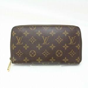 💯 Auth Louis Vuitton Zippy Monogram Organizer
